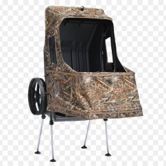 Duck Hunting Chair Ercol Rocking Styles Waterfowl Blind Goose Blinds Png