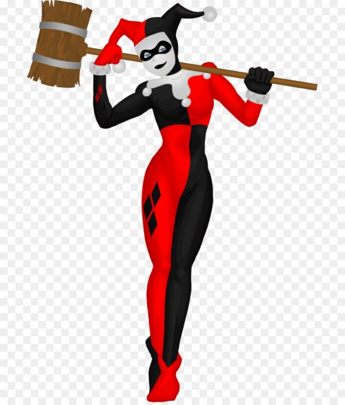 small resolution of harley quinn joker batman fictional character costume png