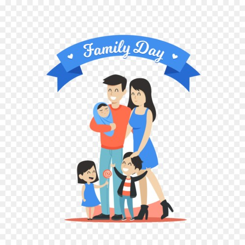 small resolution of family day family international day of families cartoon text png