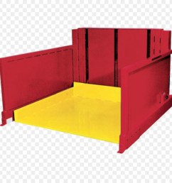 lift table pallet hydraulics red angle png [ 900 x 900 Pixel ]