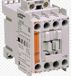 circuit breaker contactor wiring diagram electronic component technology png [ 900 x 1040 Pixel ]