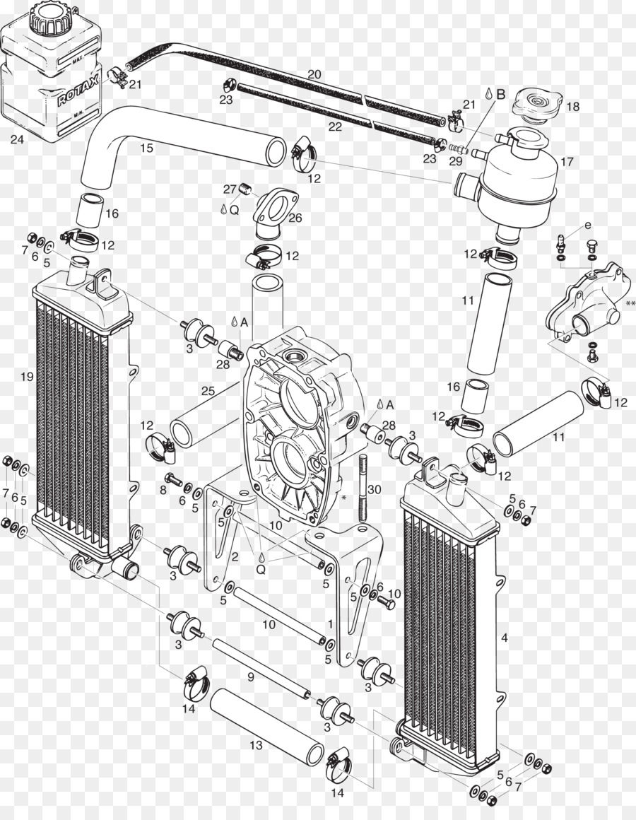 hight resolution of radiator car motor vehicle radiators auto part structure png