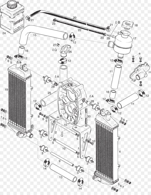 small resolution of radiator car motor vehicle radiators auto part structure png