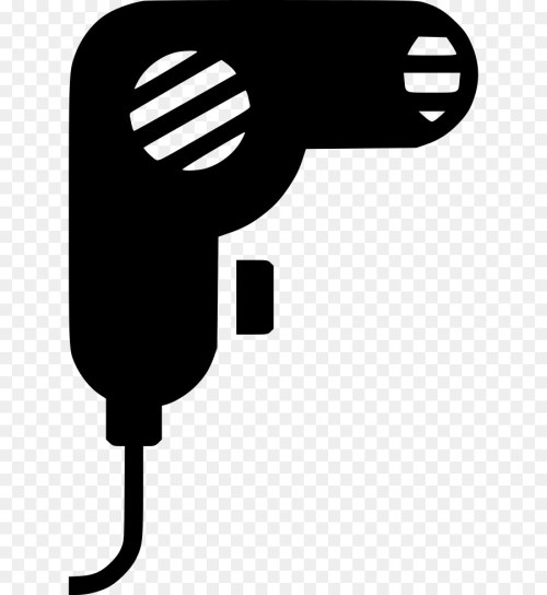 small resolution of beauty parlour hair dryers hair technology black and white png