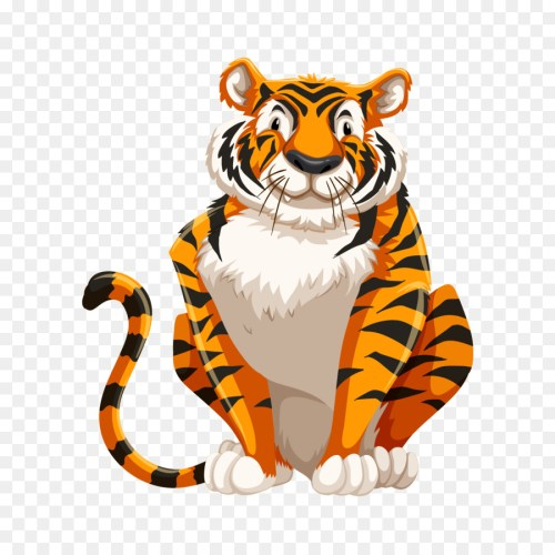 small resolution of bengal tiger diagram royaltyfree tiger mammal png