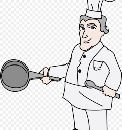 chef cooking drawing white person png [ 900 x 1160 Pixel ]
