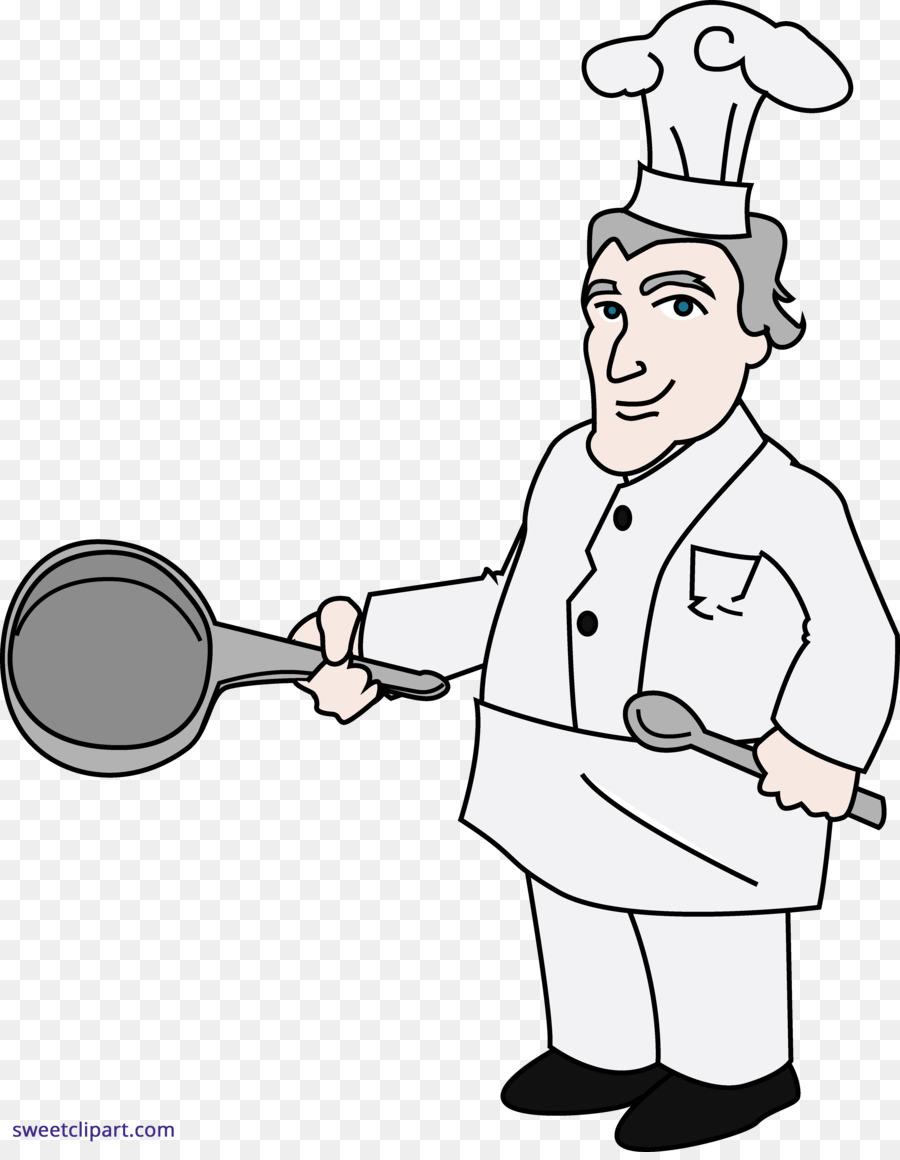 hight resolution of chef cooking drawing white person png
