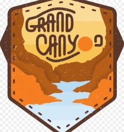 grand canyon logo canyon orange emblem png [ 900 x 1040 Pixel ]