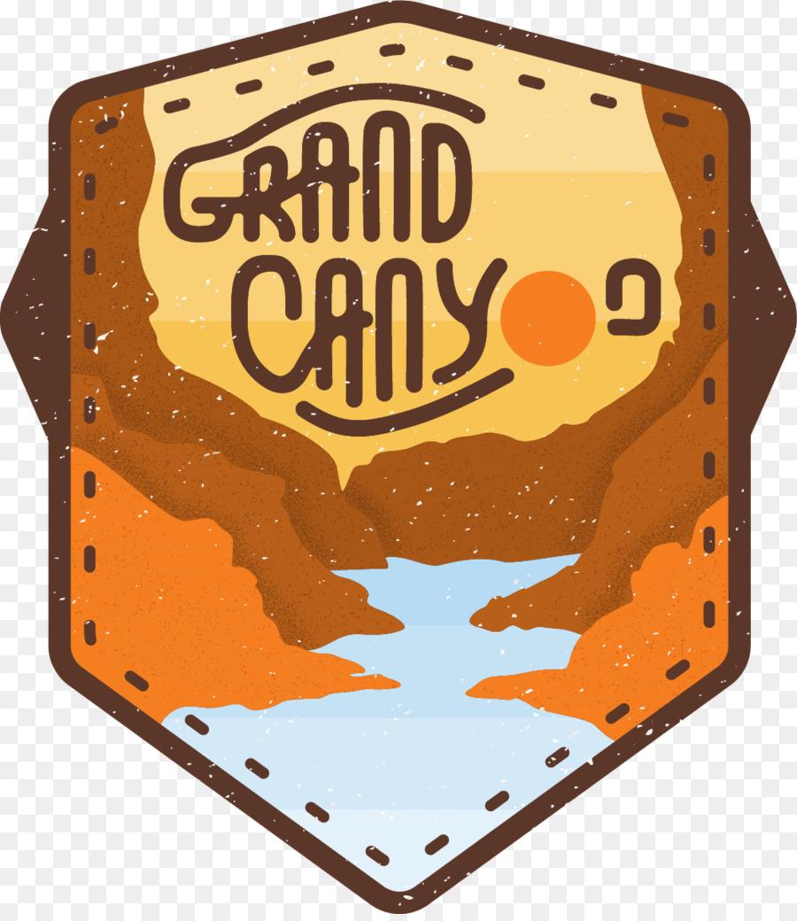hight resolution of grand canyon logo canyon orange emblem png