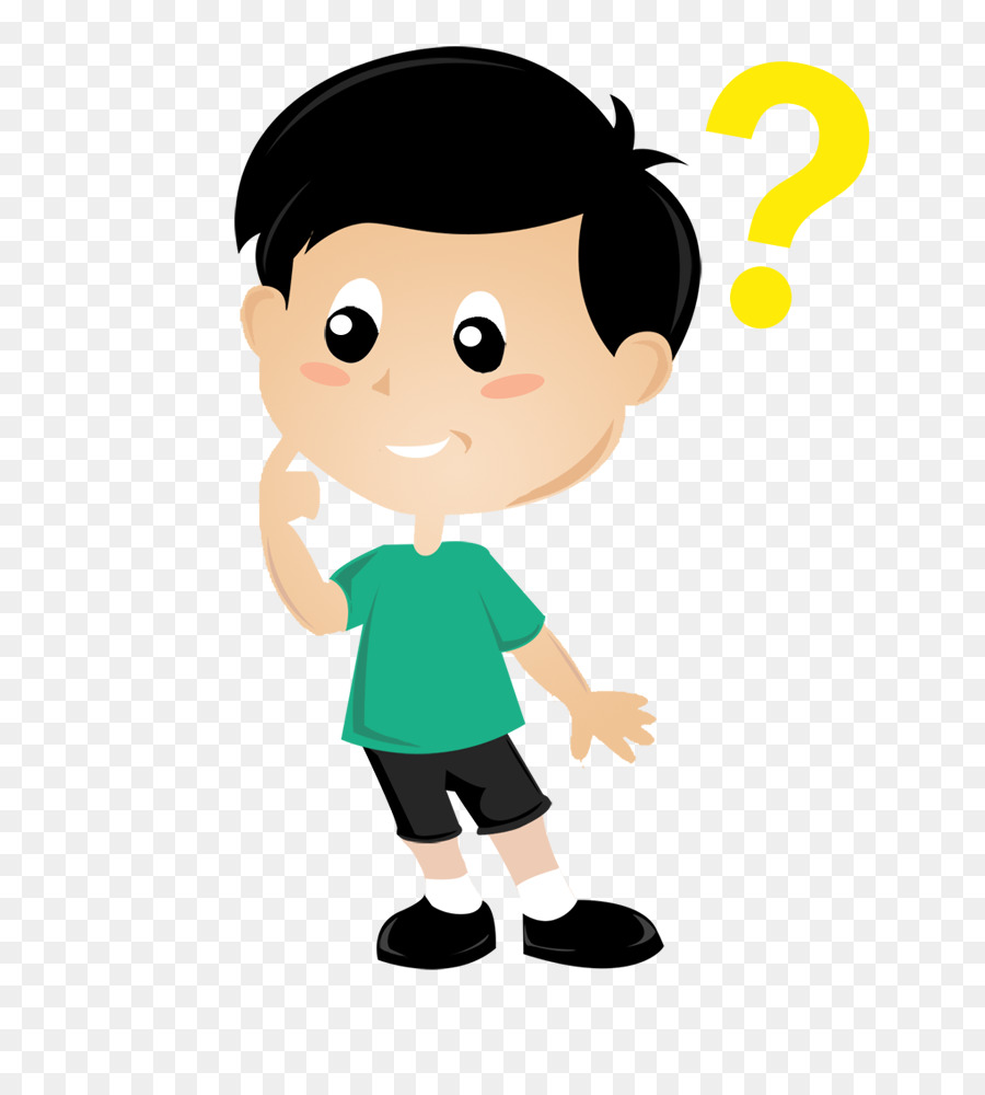 hight resolution of thought child boy cartoon png