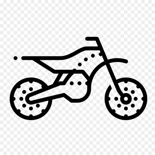small resolution of motorcycle bicycle motocross vehicle line art png