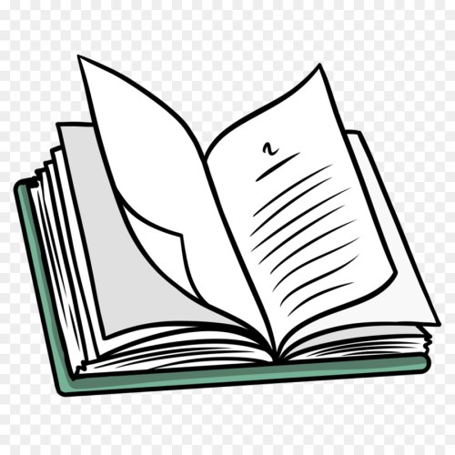 small resolution of line art art book leaf png