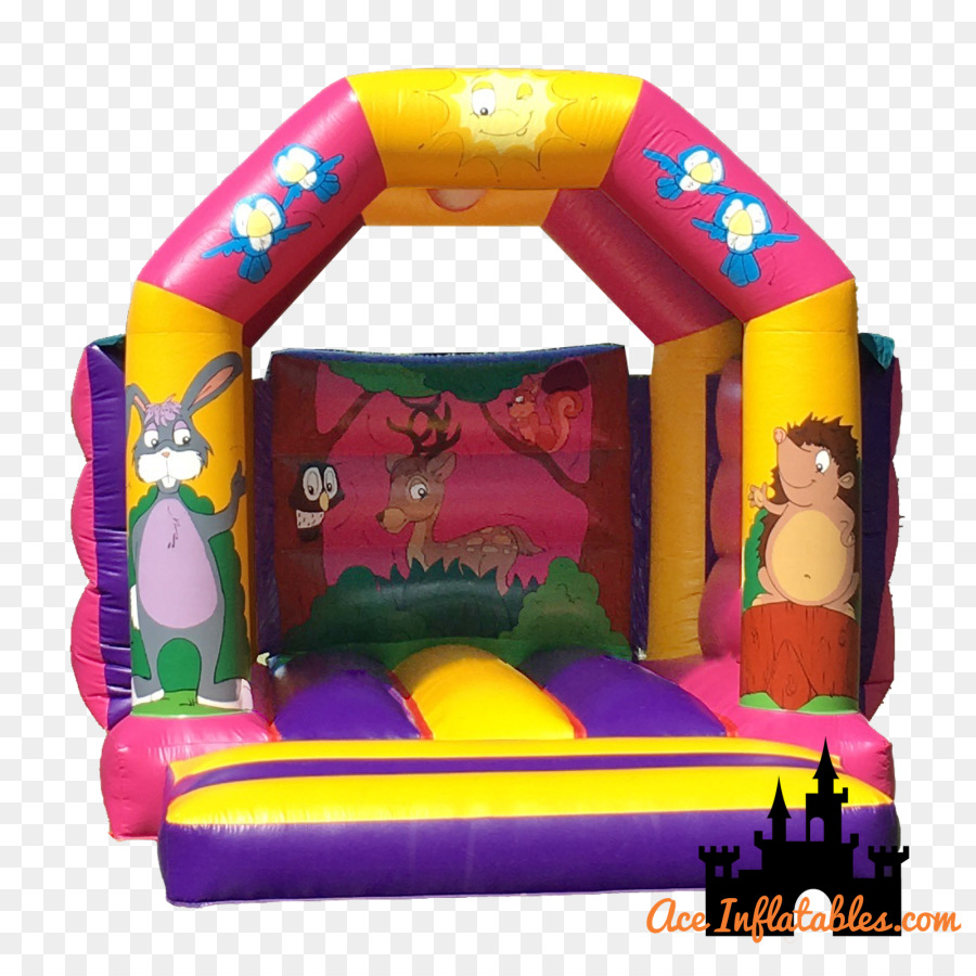 hight resolution of inflatable inflatable bouncers castle bounce house png