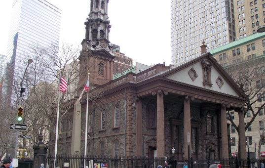 Ground zero chapel hosts post-9/11 exhibit