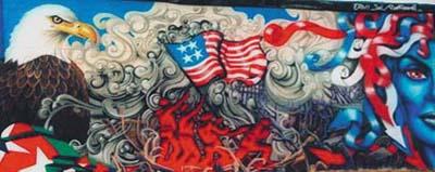 Tribute to 9/11 - Graffiti style