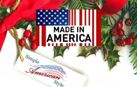 Have a Made in USA Christmas