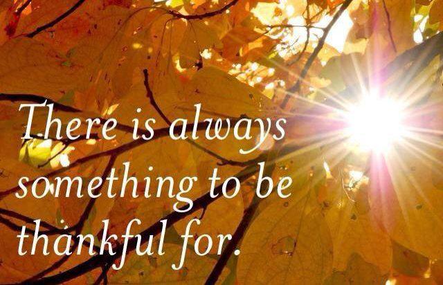 Thanksgiving Year Round