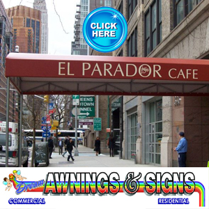 NYC Awnings and Signs
