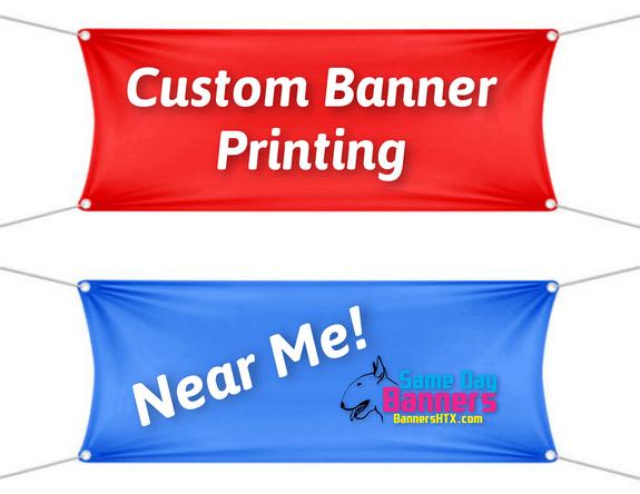 custom banner printing near me