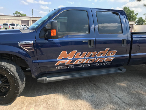 Vehicle Graphics - Side of Truck