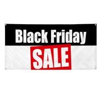 BLACK FRIDAY SALE Business 2 ft x 4 ft Banner Sign w/4 ...