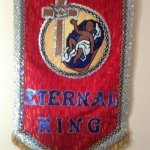 Eternal King Small Christmas Banner