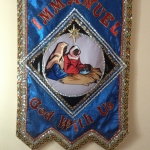 Immanuel God With Us Christmas Banner