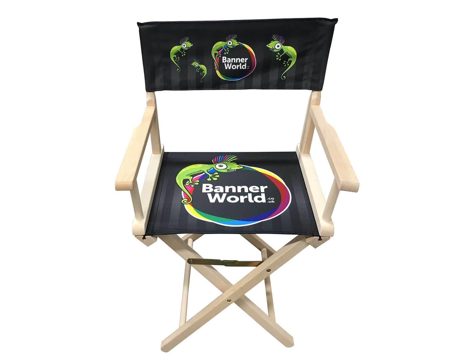 Personalized Directors Chair Personalised Directors Chair Full Colour Printed From Your Design