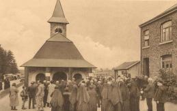 Pèlerins à Banneux - Carte postale2