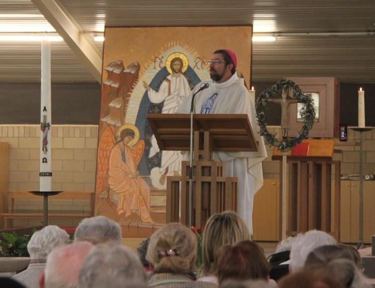 1er mai 2018 - Mgr Jean-Pierre Delville