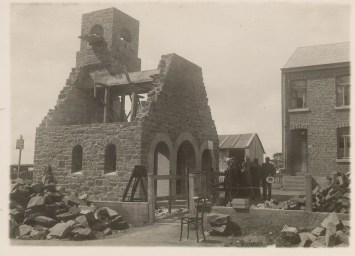 Construction de la chapelle