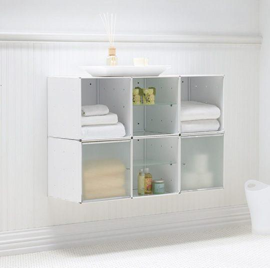 Mueble de bao con estantes  Imgenes y fotos
