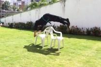 Robson improvising