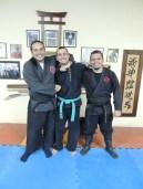 Miguel Greg Sensei, Robson Souza & Paulo Mesquita Sensei