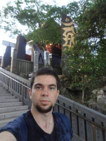 At Narita San Buddhist Temple, 2013. Japan.