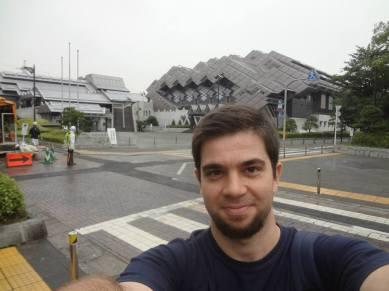 Pedro Henrique Shidoshi at Tōkyō Budōkan (Japan) in 2013.