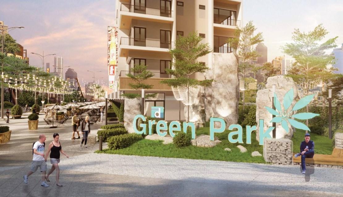 logot phương đông green park