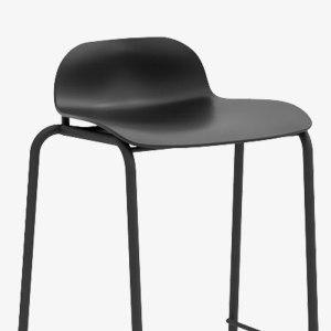Barstol svart modern