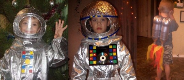 kosmonautdrakt til nyttår