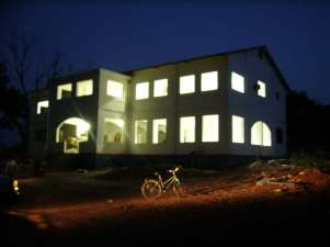 The MITIE house - electrified for the first time.