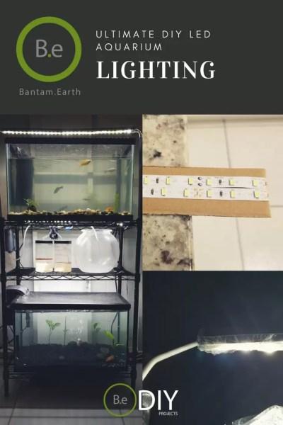 best diy LED aquarium lighting