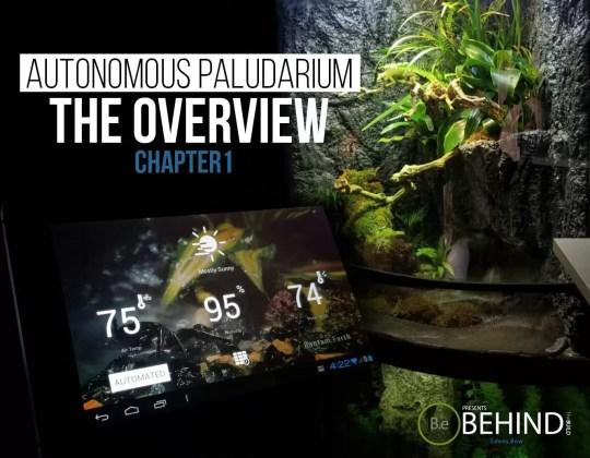 BEHINDtheBUILD paludarium overview chapter 1