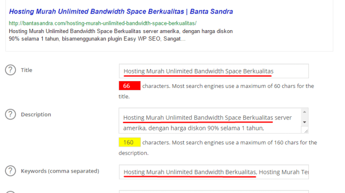 Hosting Murah Unlimited Bandwidth Space Berkualitas