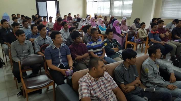Seminat Internet Marketing di Perpustkaan Universitas Syiah Kuala