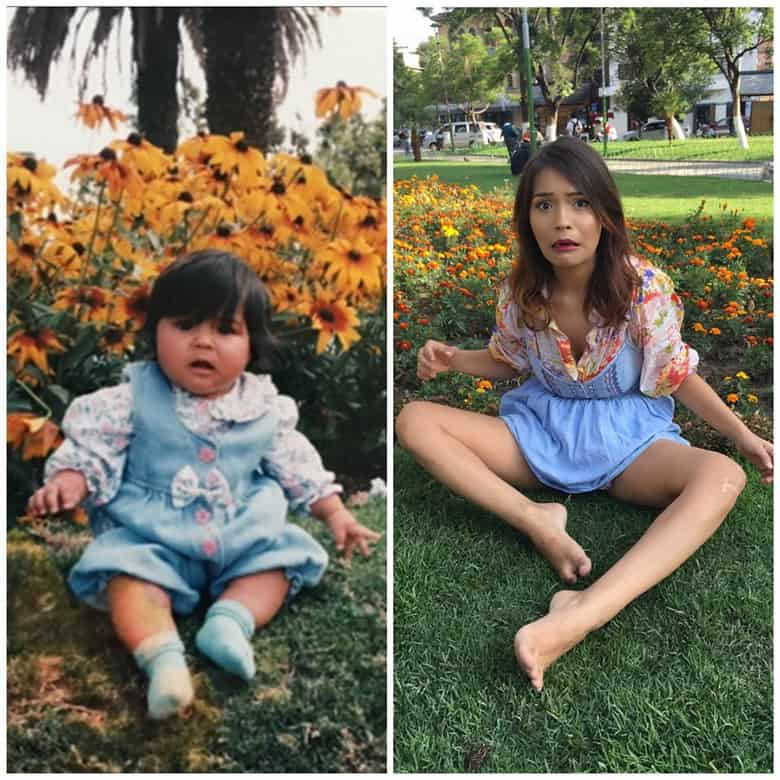 Recreating childhood memories-Pictures will prove how life changes with Time