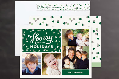 2013 Holiday Collection For Minted Hip Hip Hooray
