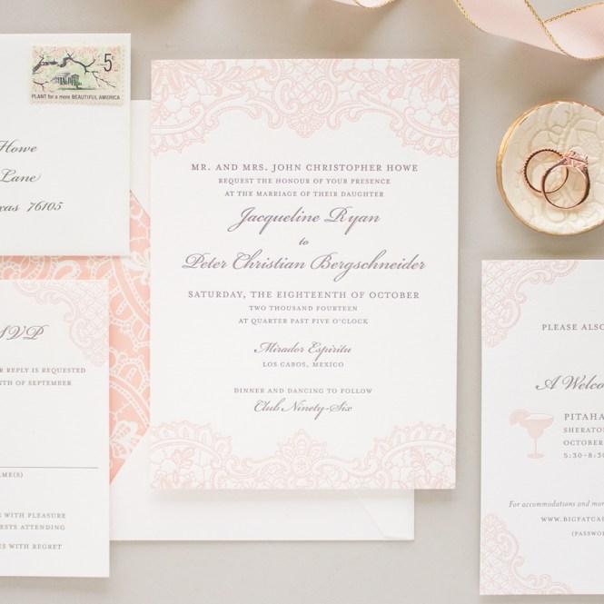 Traditional Letterpress Wedding