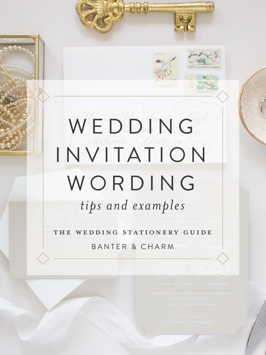 wedding stationery guide wedding
