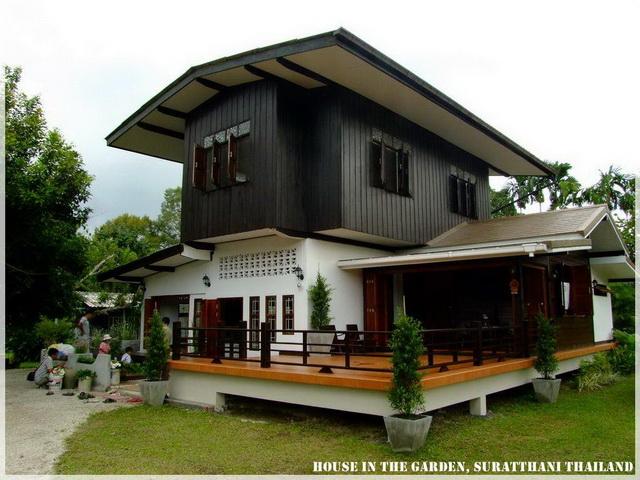 Thai Country Half Wood Half Concrete House Review 21jpg