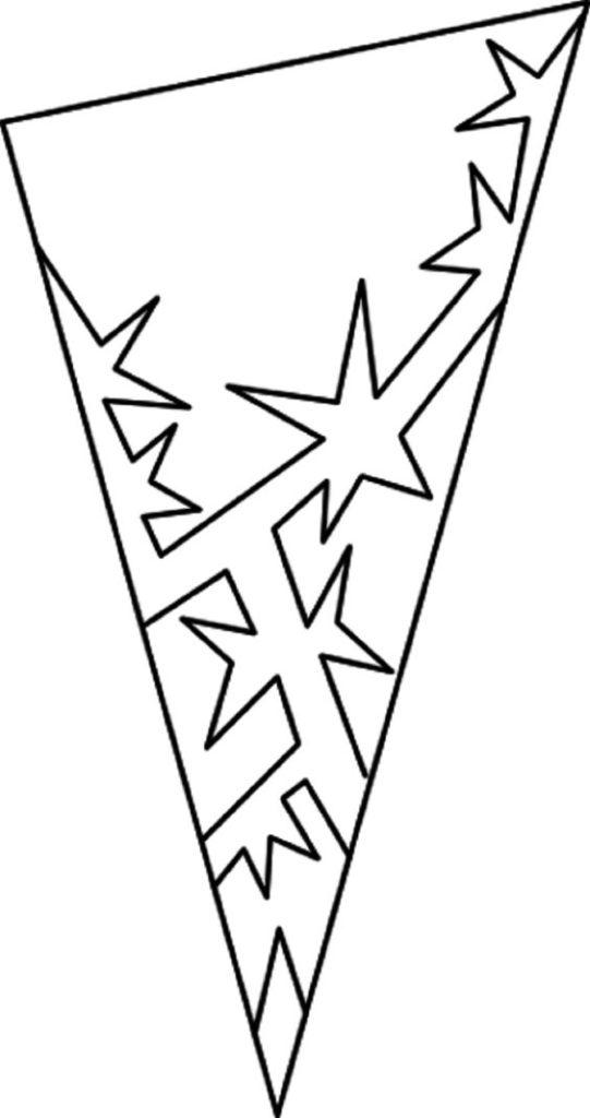 与星的雪花样式